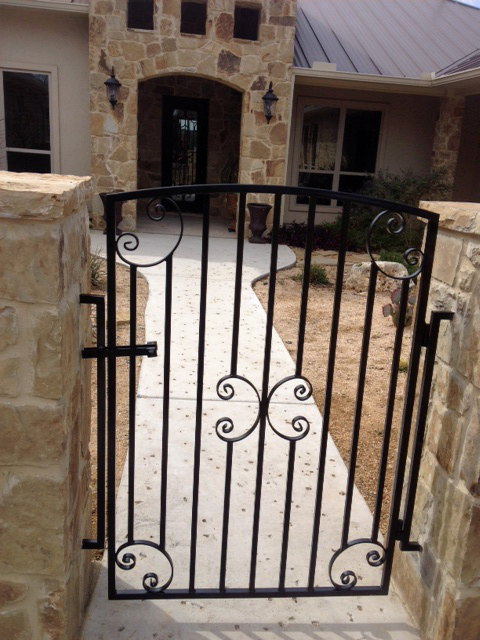 custom electronic metal gates